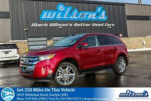 2014 Ford Edge LIMITED SUV AWD! LEATHER! NAVIGATION! PANROAMIC S