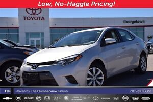 2015 Toyota Corolla LE with back up camera