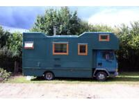 Leyland Daf Converted Truck Tiny Home House on Wheels for Sale