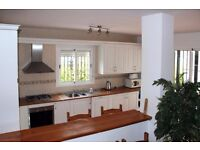 RURAL ANDALUCIA 3 BED DETACHED HOUSE WITH POOL AND SEA VIEWS TO RENT LONG TERM