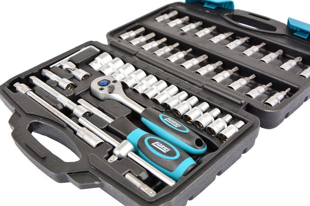 Torx Feinmechanik Werkzeug Set Schraubenzieher CRV Bitsatz Uhrmacher Mini 45tlg