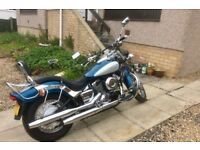 Yamaha Dragstar 650 Classic, Low Miles, Fantastic Custom for touring may swap