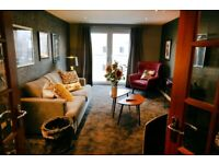 Chic, fully furnished, 1 bedroom flat for rent with onsite Gym, 10 mins from City centre.