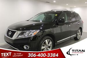 2013 Nissan Pathfinder Platinum|7 Pass|Heated Leather|PST Paid