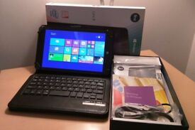 """As New Linx 8 - 8"""" Windows 8.1 Tablet, Wifi, Bluetooth, Front/Rear Camera - with Keyboard/Case!"""