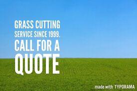 Lawn service grass cutting gardening