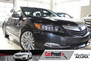2014 Acura RLX TECH Pkg with All wheel steering, Navigation, Sun
