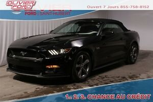 2016 Ford Mustang GT Premium RWD CUIR MAGS CAMÉRA BLUETOOTH A/C