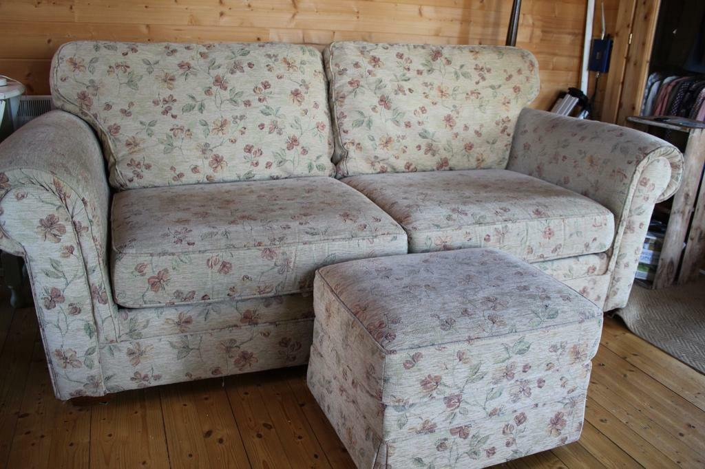 Marks Amp Spencer Sofa Bed And Footstool In Stroud