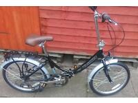 Brand new out of the box folding bike