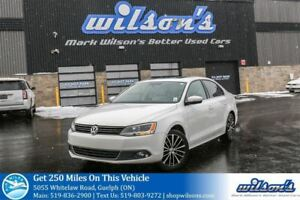 2014 Volkswagen Jetta HIGHLINE LEATHER! SUNROOF! HEATED SEATS! P