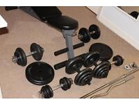 Gym weights Fitness equipment