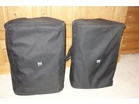 EV ZX4 Speakers with Bags