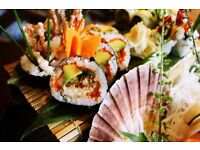 Head Sushi Chef or Head Chef for busy Japanese Restaurant in Clapham