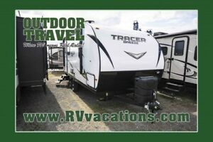 2018 FOREST RIVER Tracer 20RBS Ultra Lite Travel Trailer