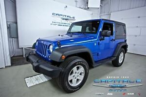 2014 Jeep Wrangler SPORT*TOIT DUR*MAGS*CRUISE