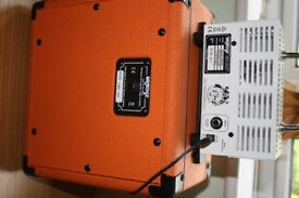 Orange Micro Terror Guitar Amp Head, VALVE with 1x8 Cabinet STACK