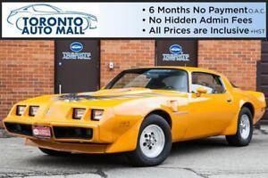1981 Pontiac Firebird 4 Speed Manual+400 Big Block+Leather seats