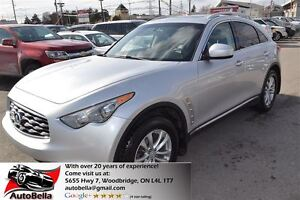 2010 Infiniti FX35 leather roof 4X4 back-up camera no accident