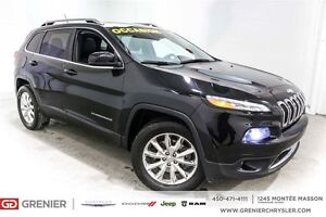 2014 Jeep Cherokee Limited Cuir*Groupe technologie, Navigation*