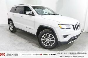 2015 Jeep Grand Cherokee Limited*Cuir,Toit Ouvrant, Navigation*