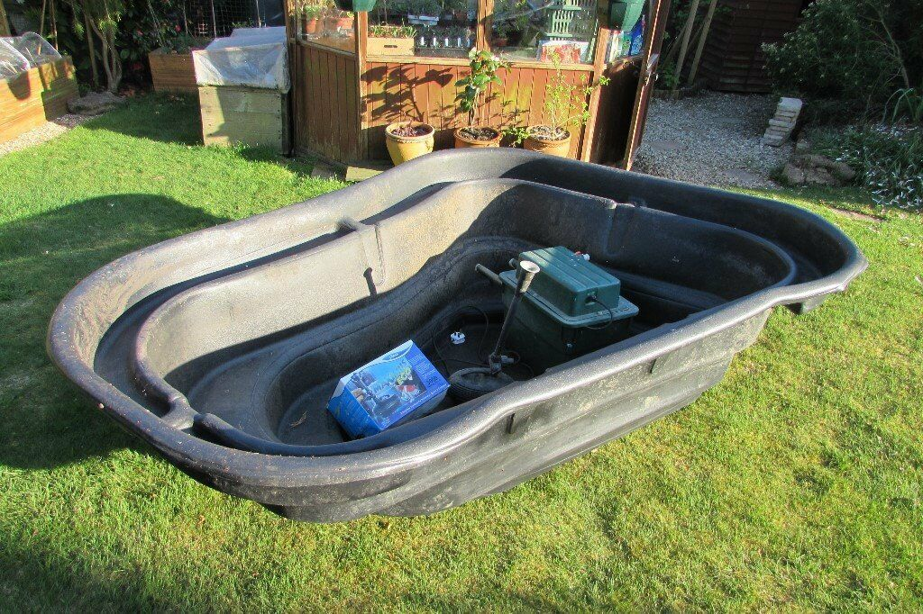 Rigid Preformed Pond Liner Filter Box And Pump In Bexhill On Sea East Sussex Gumtree