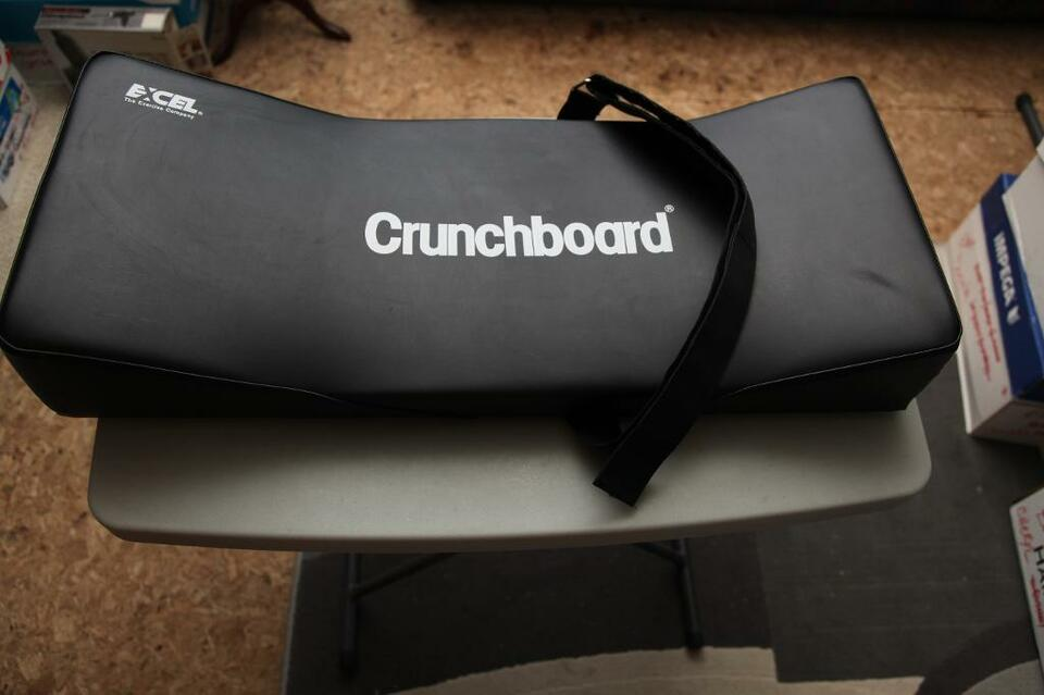 Buy Used Cars Toronto >> CRUNCHBOARD Exercise: Stomach, Calves, Thighs & Back Muscles | Exercise Equipment | City of ...