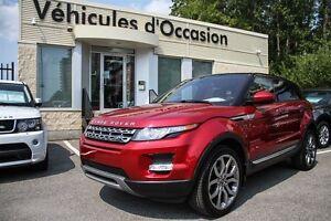 2014 Land Rover Range Rover Evoque Prestige CERTIFIÉ 2.9% GARANT