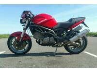 2006 cagiva raptor 650 ie (suzuki sv650 engine)