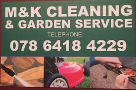 Gardening and cleaning jobs