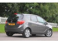 VAUXHALL MERIVA 1.7 SE CDTI 5d AUTO 99 BHP RAC WARRANTY + BREAKDOW (grey) 2011