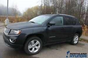2015 Jeep Compass /High Altitude/4x4/Heated Seats/Leather/AUX Prince George British Columbia image 3