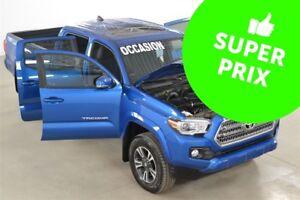 2017 Toyota Tacoma 4x4 V6 Double Cab TRD Sport GPS+Toit Ouvrant