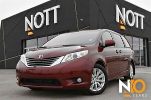 2014 Toyota Sienna XLE, 7 Pass, Heated Leather, Moonroof
