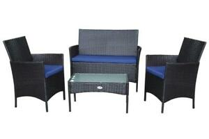 Windsor 4 Piece Outdoor Patio Furniture set - Balcony - Condo - Front of house set 6479393662 Windsor Region Ontario Preview