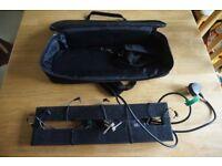 Pedaltrain Nano+ pedal board and Adam Cioks power