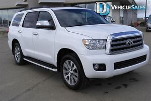 2016 Toyota Sequoia Limited 5.7L V8, 4x4, Moonroof, Nav, Leather