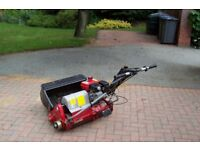 CYLINDER MOWER SAXON LM26 IN VIRTUALLY NEW CONDITION WITH PRICE REDUCED
