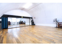 3 rehearsal studios in the heart of camden with wall to wall full length mirrors and sprung floors