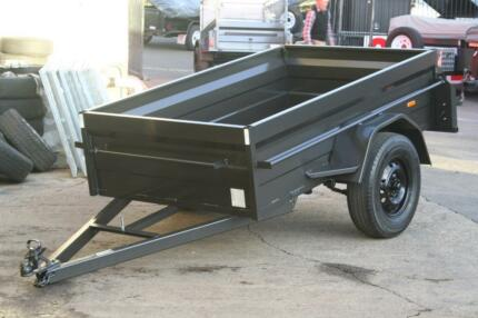 7x4 Heavy Duty Box Trailers - On Sale from $1099 Fyshwick South Canberra Preview