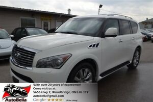 2011 Infiniti QX56 4x4 Navi DVD 360 Camera No Accident