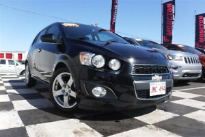 2012 Chevrolet Sonic LT | Low KM | Sunroof | Heated Seats |