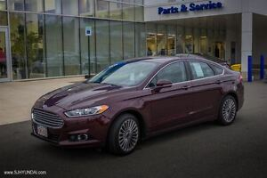 2013 Ford Fusion Titanium! LOADED!LEATHER! AWD! NAV! $140 B/W