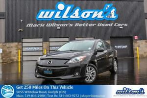 2012 Mazda MAZDA3 GS-SKYACTIV SEDAN! LEATHER! SUNROOF! CRUISE CO