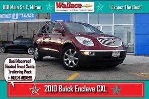 2010 Buick Enclave CXL/1-OWNER/NO ACCIDENTS/2X MOONROOF/HTD STS/