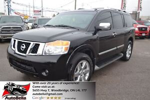 2011 Nissan Armada Platinum Edition DVD Camera Leather Sunroof 4