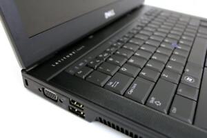 Ordinateur portable DELL E6410 - Core i5 - 4 coeurs - 4gigs mémoire - disque 120 gigs -reconditionné à neuf