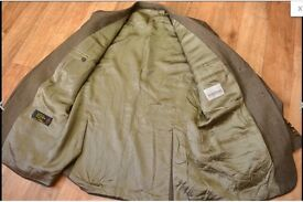 "Lovely ITALIAN JACKET..Australian wool..Checkout Labels in pics..Too small for me..42""-44""chest.."