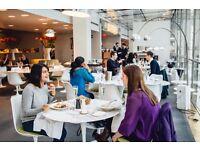 Waiter / Waitress - Plateau Restaurant - Canary Wharf - Up to £10 ph - Sundays OFF