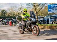 Suzuki DL650 V-strom touring bike
